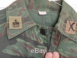 Rare! Ecuador Red Tiger Stripe Camo uniform Shirt and pants SET