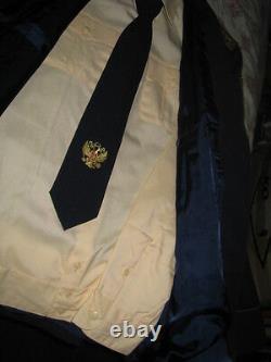Rare Russian Leutenant General Parade Military Uniform Set Tunic-pants-shirt-tie