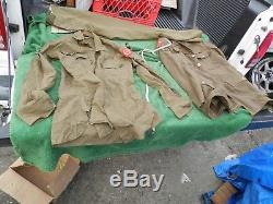 Rare Vintage WWII Military Uniform Cameron Officer Uniform Shirt, Jacket, Pants