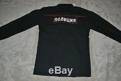 Russian officer of the patrol service Uniform Original shirt pants jacket cap