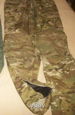 SET Level 9 Combat Jacket & Next to Skin Shirt Green & Pants MultiCam SEAL w Bag