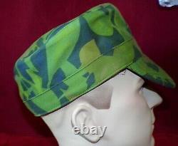 Sadf, Recce, Special Forces, Copy Camo, Cuban Elm Leaf, Shirt, Pants, Cap, Large