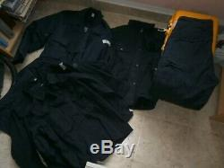 Serbian Police working uniform (old type)-winter jacket, 2 shirts, pants and vest