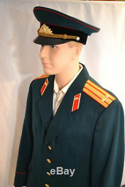 Soviet Russian Army Tank Colonel Uniform Tunic Jacket Shirt Pants Hat Post Wwii