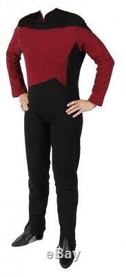 Star Trek The Next Generation Uniform Shirt Pant Red M. Filmwelt Berlin
