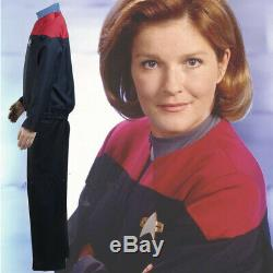 Star Trek Voyager Command Kirk Red Uniform Outfit Cosplay Costume Full Any Suit