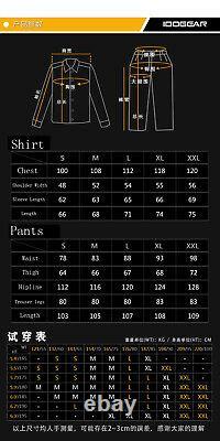 Tactical Hunting G3 Combat Uniform Set Long Sleeve Shirt & Pants Knee Pads S-2XL