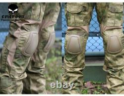 Tactical Training Combat Uniform V2 Shirts & Pants A-TACS FG Size S/M with Belt