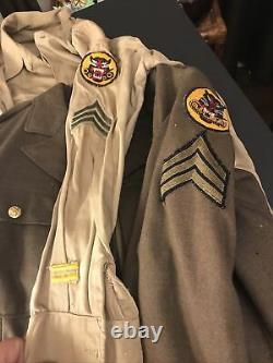 Tank Destroyer Units World War II Uniform Jacket Pants Shirt Black Panther Tank