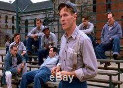 The Shawshank Redemption (1994) Prison Uniform Striped Shirt Denim Pants