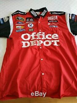 Tony Stewart Sprint Cup Series Office Depot Pit Crew Uniform Shirt & Pants