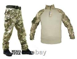 Turkish Army specs genuine rare camouflage combat shirt and pants 2