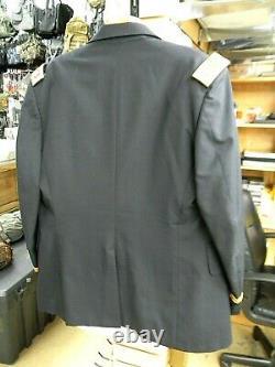 US Army Artillery Major Officers Blue Dress Uniform Coat, Pants, Shirt & Tie