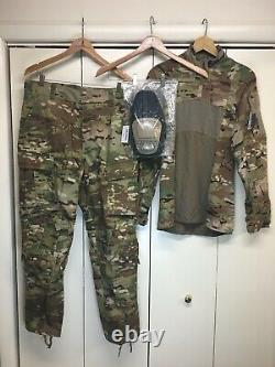 US Army Combat Pants (MR) with Crye Knee Pads & Type II Combat Shirt (Med) NWT