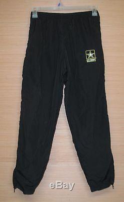 US Army Winter PT Uniform Lot (5 Medium Shirts, 2 Medium-Short Pants) NEW