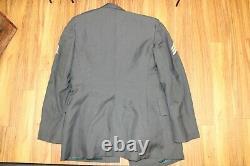 US Army uniform Vietnam Era with patches, badges Coat 40R, pants 30L, shirt 15 x