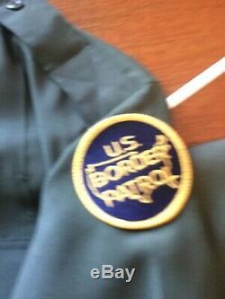 US Border Patrol Dress Uniform Jacket 42S, Shirt 15 1/2x32, Pants 32with27inseam