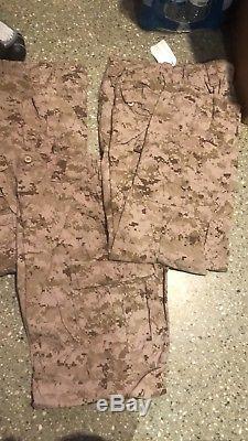 USMC Desert Marpat Trousers & FROG Combat Shirt Set Size Medium/Regular