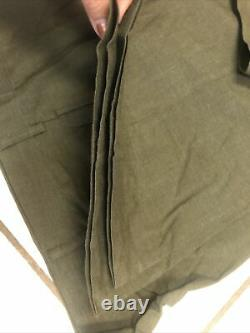 USMC Dress uniform Tropic green, full uniform pants, jacket, cap, Shirt, tie