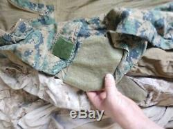 USMC FROG TACTICAL Combat Shirt & Pants MARSOC FAST Crye Navy Seal SF ML LL CAG