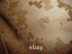 USMC MARPAT Uniform DESERT Combat Shirt Pant X LARGE REGULAR XLR USED