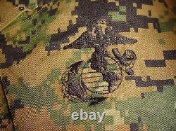 USMC MARPAT Uniform WOODLAND SET Combat Shirt Pant LARGE X LONG L XL ISSUED