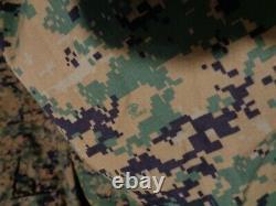 USMC MARPAT Uniform WOODLAND SET Combat Shirt Pant X LARGE REGULAR SET NWOT