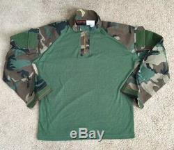 USMC MARSOC Marine Raider SEAL SFG DRIFIRE Woodland Combat shirt pant Size XL