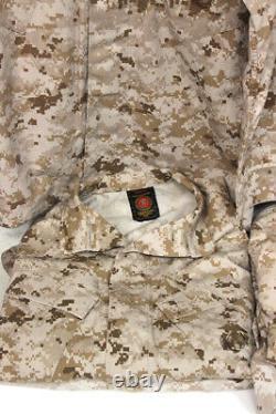 USMC Recon / Raider Desert Digital Uniforms (6) Shirts (6) Pants All S-R