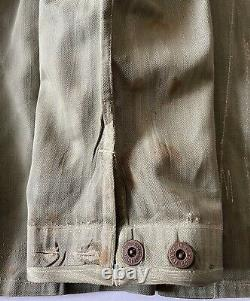 USMC WW 2 II P41 HBT US Marines Herringbone Field Utility Pants & Jacket Shirt