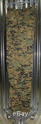 USMC Woodland MARPAT FROG Shirt &Pants Combat Marine Uniform Small