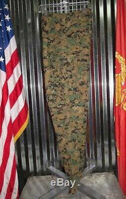 USMC Woodland MARPAT FROG Shirt & Pants Marine Combat Uniform Small Set