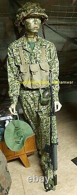 Uniforms North Vietnamese Army Camouflage Uniform, ONE LONG PANTS + ONE SHIRT