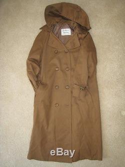 United Airlines Uniform, Vintage, Trench Coat, Vest, Pants, Shirt & Scarf