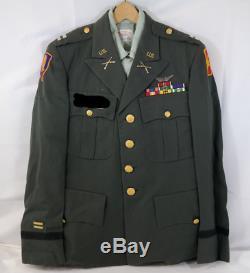 Us Army Class A Officer Dress Green Uniform Shirt Jacket Pants Ak
