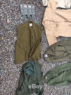VTG/Modern U. S. Military Army Mix Lot Uniform Battle Dress Utility Shirts Pants