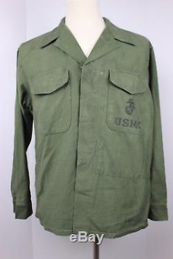 VTG P1958 USMC Gomer Pyle Uniform Shirt Jacket Pants 42 Early Vietnam 34 x 28