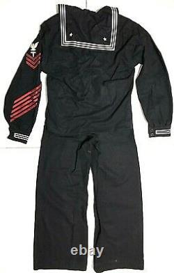 VTG. Vietnam USN Navy medic sailor Naval cracker jack uniform shirt trouser Pant