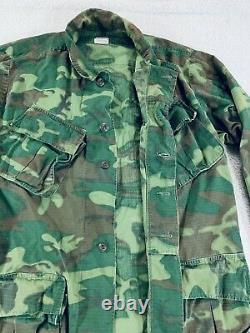 Vietnam OG 107 Jungle Trousers Tropical Pants + Poplin Coat Shirt Lot Of 3 S/M