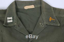 Vietnam War Early Og107 Named Medic Utility Shirt & Pants Ref#155