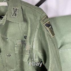 Vietnam War Named XO Cavalry Ranger Airborne Shirt & Pants