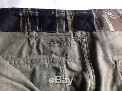 Vietnam War Original TIGER STRIPE PANTS AND SHIRT- Tadpole Pattern Pants US Army