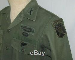 Vietnam WarPeriod U. S. Army Airborne Pathfinder/Special Forces Combat Shirt/Pant