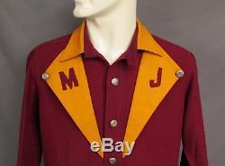 Vintage 1930s Firefighters Wool Dress Uniform Shirt/Pants Mount Joy, PA. Fire Dept