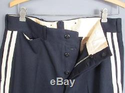 Vintage 1930s Firefighters Wool Uniform Shirt/Pants Good Will Co. Frackville, PA