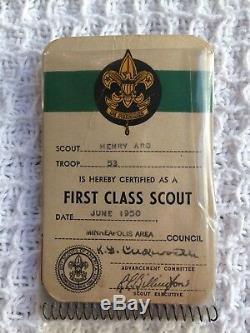 Vintage 1940s Cub Boy Scouts Uniform Lot Shirts Pants Hat Badges Patches Belt