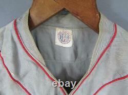 Vintage 1940s Kurtz House Baseball Uniform Sun Collar Shirt Pants Cap Cleats PA