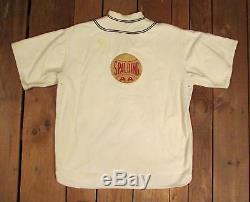 Vintage 1940s Spalding AA Cotton Flannel Baseball Uniform Sun Collar Shirt/Pants
