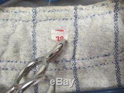 Vintage 1950s Wool Flannel Boys Baseball Uniform'B' Pinstripe Shirt/Pants Nice