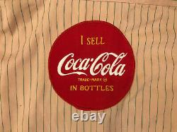 Vintage 1960's Coca Cola Coke Drivers Uniform Shirt and Pants Small